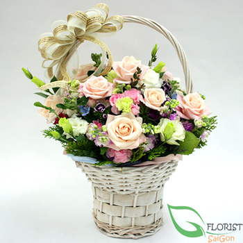 Love flowers free delivery in Hochiminh