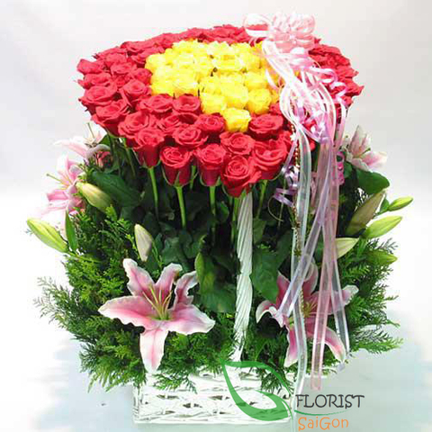 Saigon vip flower shop online