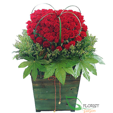 Flowers delivery free shipping District Tanbinh
