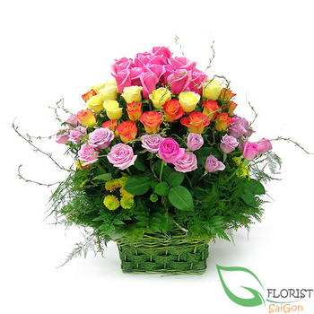 Free delivery flowers to District 5 Saigon