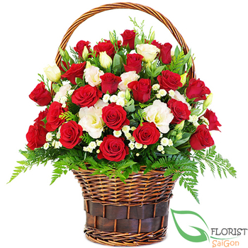 Love flowers delivery in Hochiminh