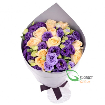 Beautiful flowers for birthday gift