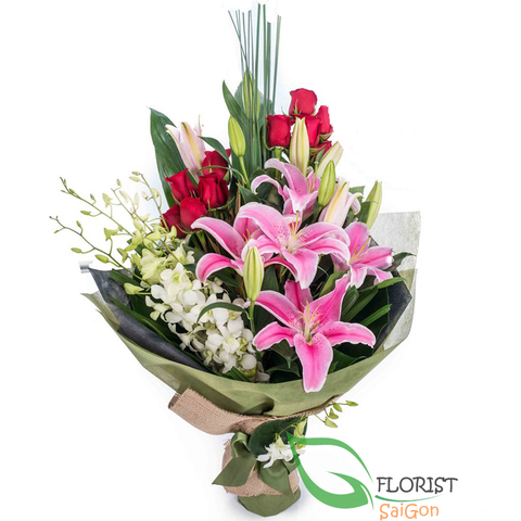 Birthday flowers and gifts delivered Saigon