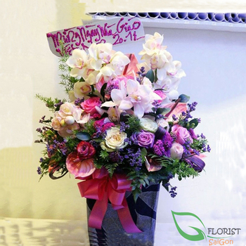 Order vip flowers next day delivery in Hochiminh