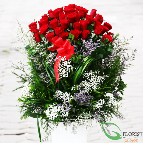 Send love flowers to Saigon Hochiminh city