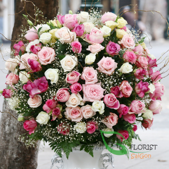 Saigon luxurious vip flower free delivery