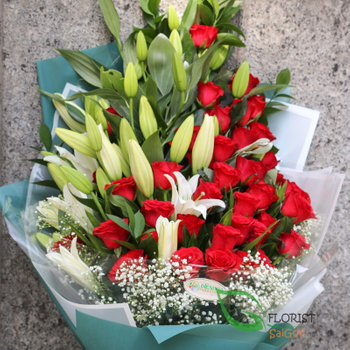 Deliver birthday flowers to saigon vietnam