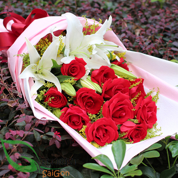 Saigon birthday flowers for your love online