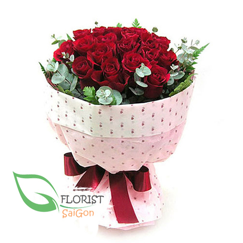 Birthday flowers free delivery Saigon