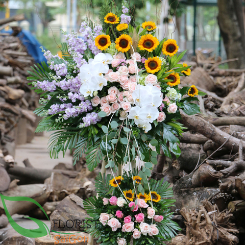 Saigon beautiful congratulations flowers