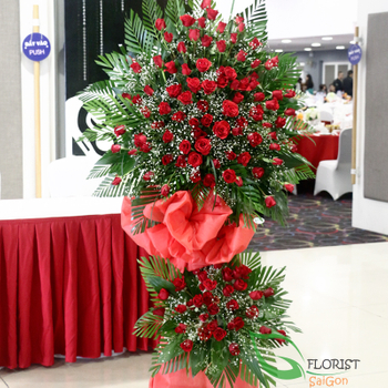 Grand opening flowers to Hochiminh