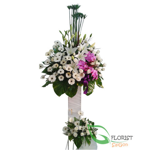 Funeral flowers delivered Saigon