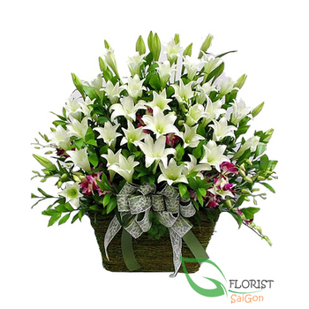 Flower delivery service in Saigon