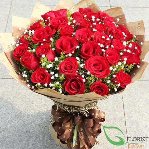 Love flowers for sending to Saigon Vietnam