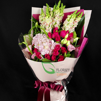 Saigon love flowers online free delivery