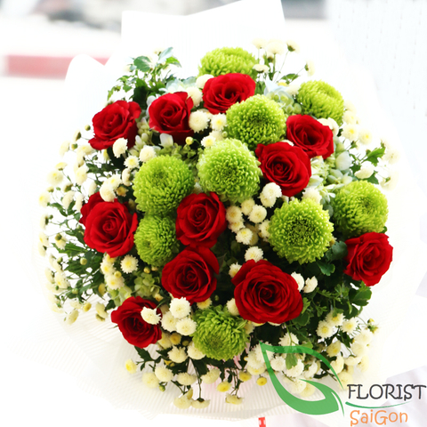 Love flowers delivery in Hochiminh City