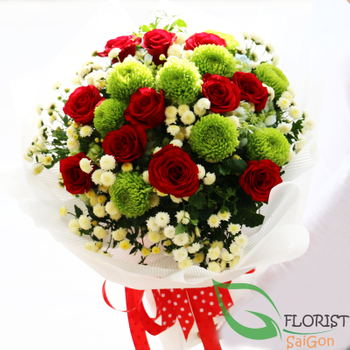 Love flowers delivery in Hochiminh City Vietnam