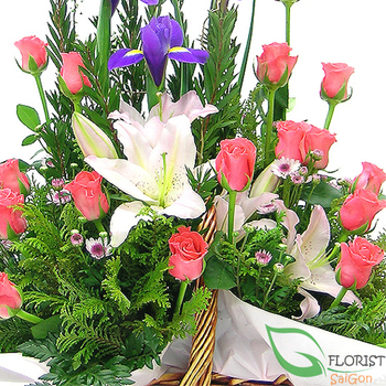 Hochiminh florist delivery flowers same day