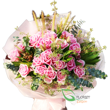 Flowers for girlfriend in Saigon free shipping