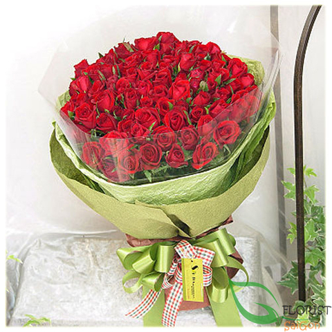 Love flowers free delivery Hochiminh city