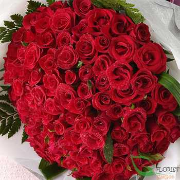 Saigon love flowers for her send online