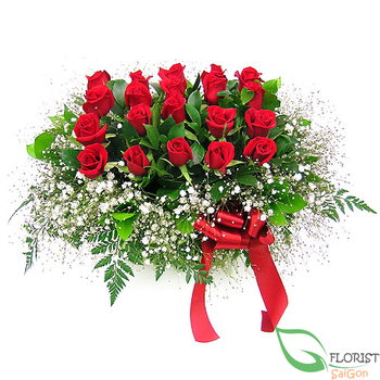 Send love flowers with messages