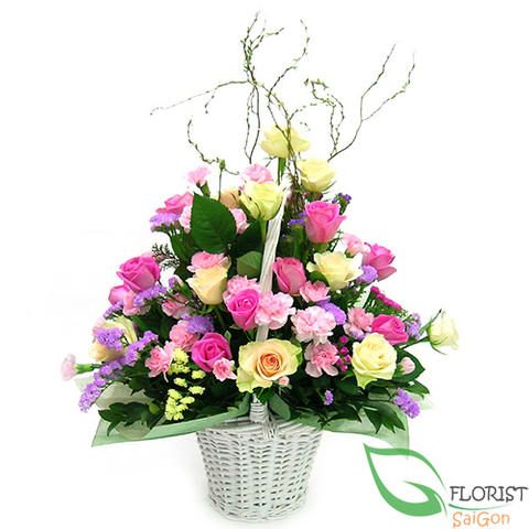 Lovely flower arrangement