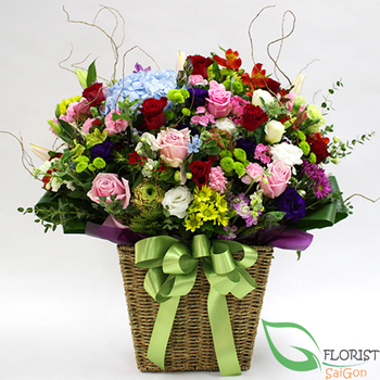 Happy day floral arrangement