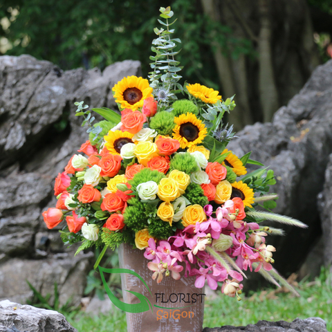 Best flowers delivery in Saigon