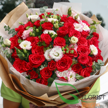 Beautiful love flowers for girlfriend in Ho Chi Minh