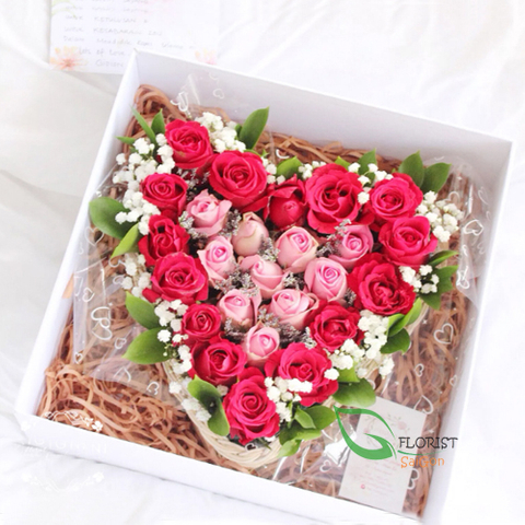 Beautiful box of roses