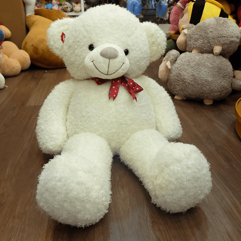 White Teddy Bears