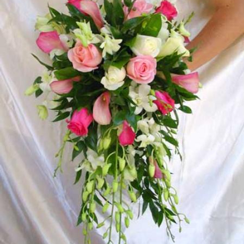 WEDDING BOUQUETS PINK ROSE