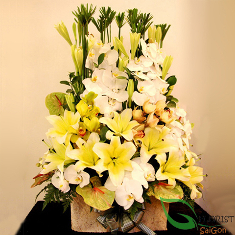 Vip flowers free delivery Hochiminh city