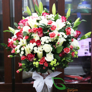 Saigon flowers in a vase free shipping