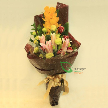 Orchid flower gifts for mom in Saigon