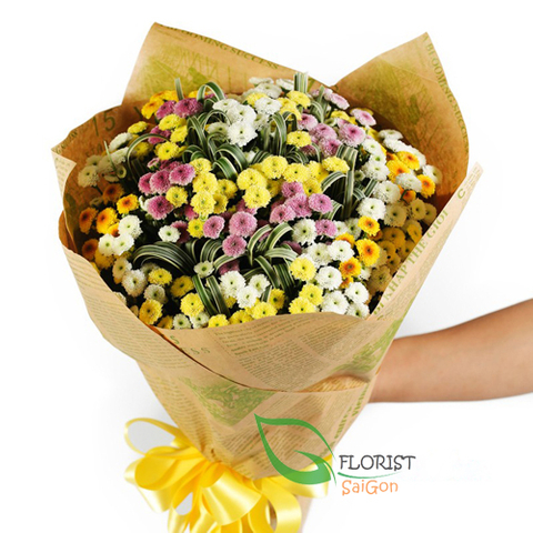 Send birthday flowers online to Hochiminh city