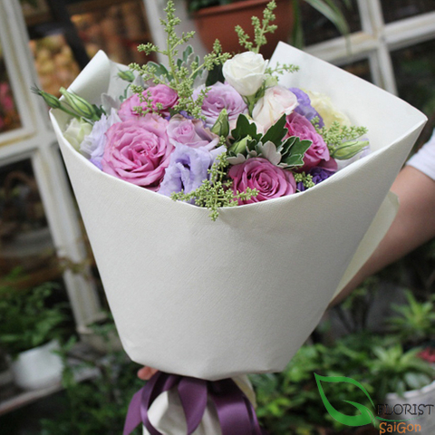 Romantic flowers for girls