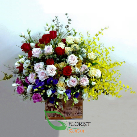 Online florist shop in Ho Chi Minh city