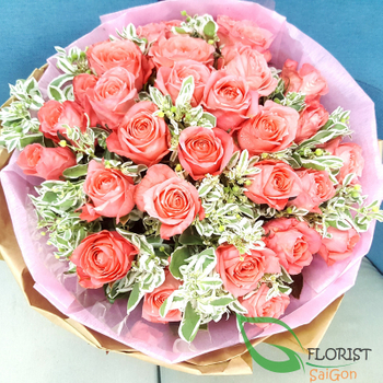 Saigon birthday flowers bouquet online delivery