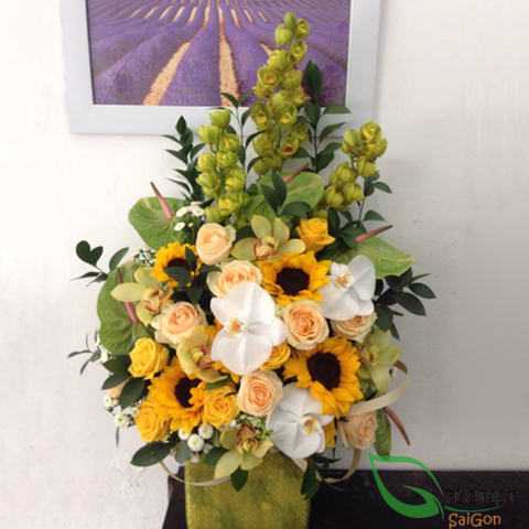 Beautiful flowers online in Hochiminh city