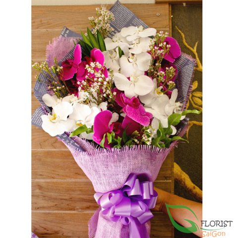 Flower delivery free shipping District 10 Saigon