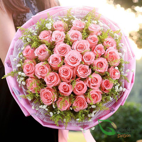 Saigon bouquet flowers free delivery