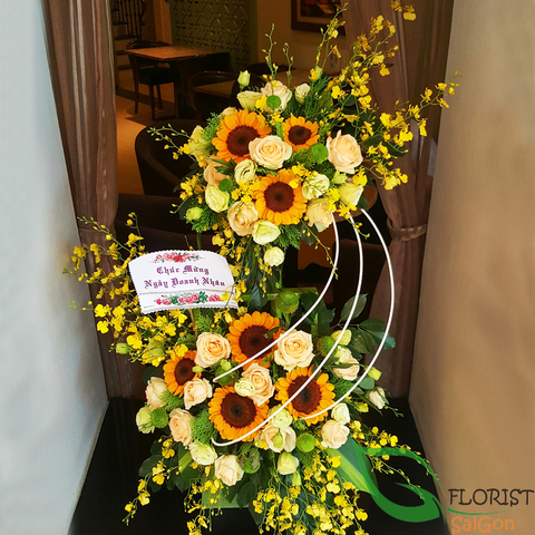 Flowers delivery in HCM city
