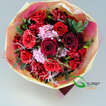 Christmas flowers delivered online order