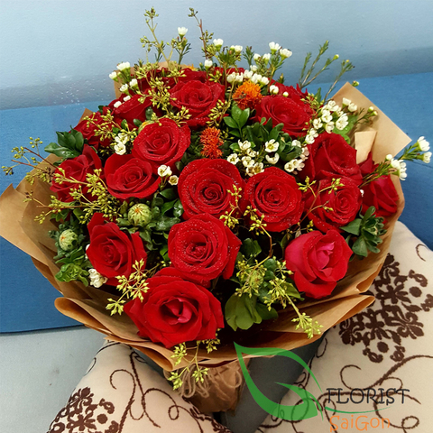 Send flowers to Saigon on Christmas