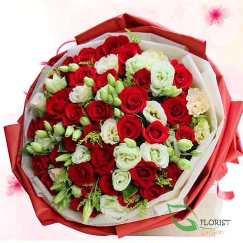 Send Christmas flower to Saigon