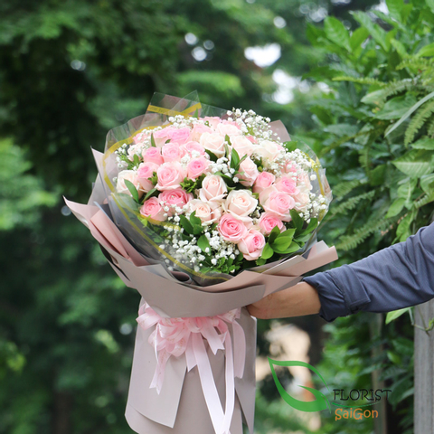 Birthday rose bouquet delivery Saigon