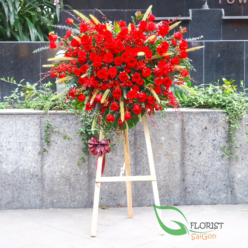 How to choose flower stands for Grand opening ceremony
