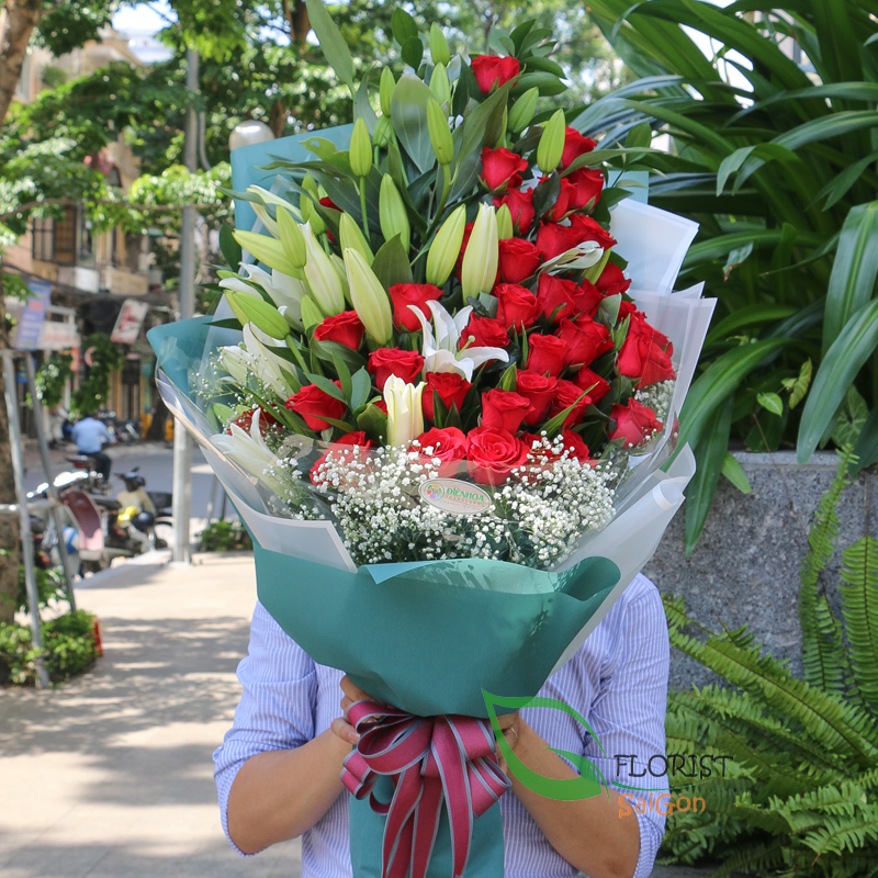 Send birthday flowers to Saigon